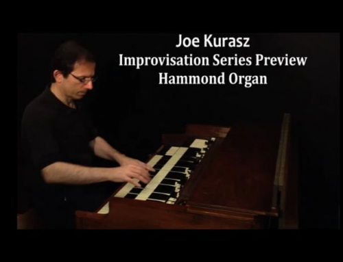 Hammond B3 Organ Preview – Joe Kurasz